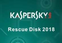 Boot Kaspersky Rescue Disk 2018 từ Grub2 Anhdv Boot