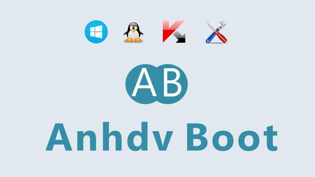 Anhdv Boot 2020 - bộ công cụ cứu hộ máy tính chuyên nghiệp