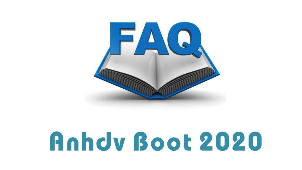 Thủ thuật không thể bỏ qua khi dùng Anhdv Boot 2020